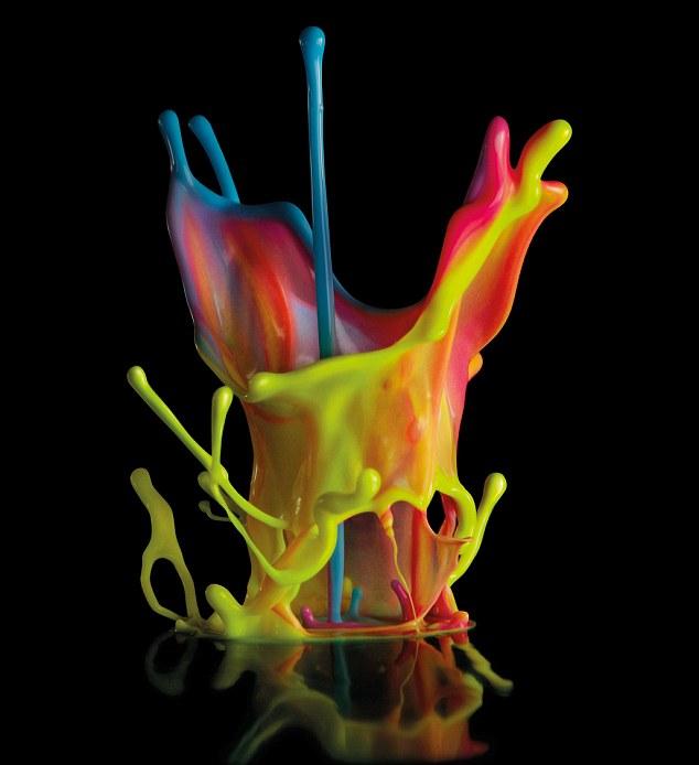 Sound Wave Paint Splash Linden Gledhill