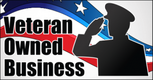 Veteran Owned Business - horizontal badge