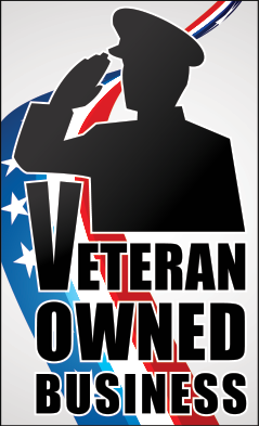 Veteran Owned Business - vertical badge