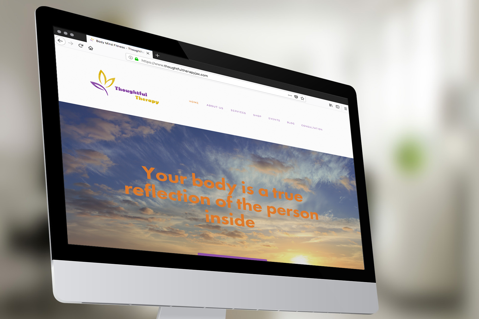 Website for Thoughtful Therapy