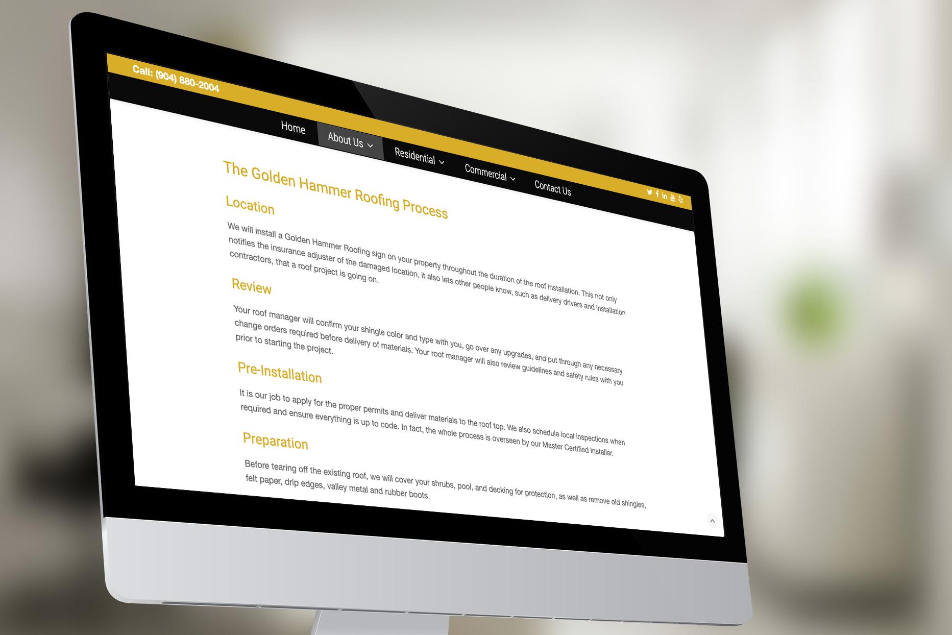 Golden Hammer Website