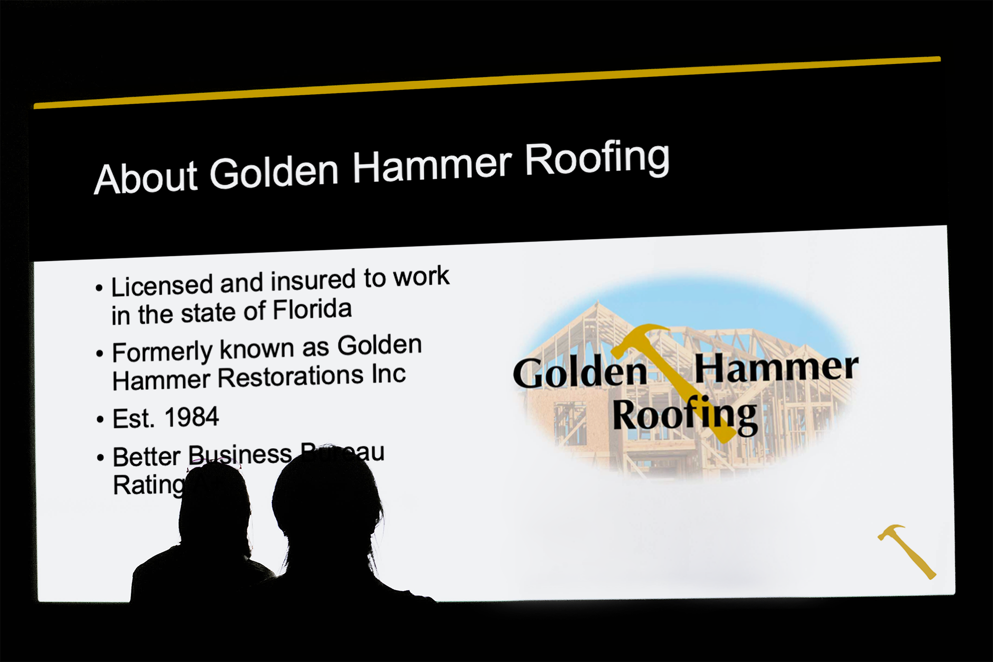 Golden Hammer PowerPoint