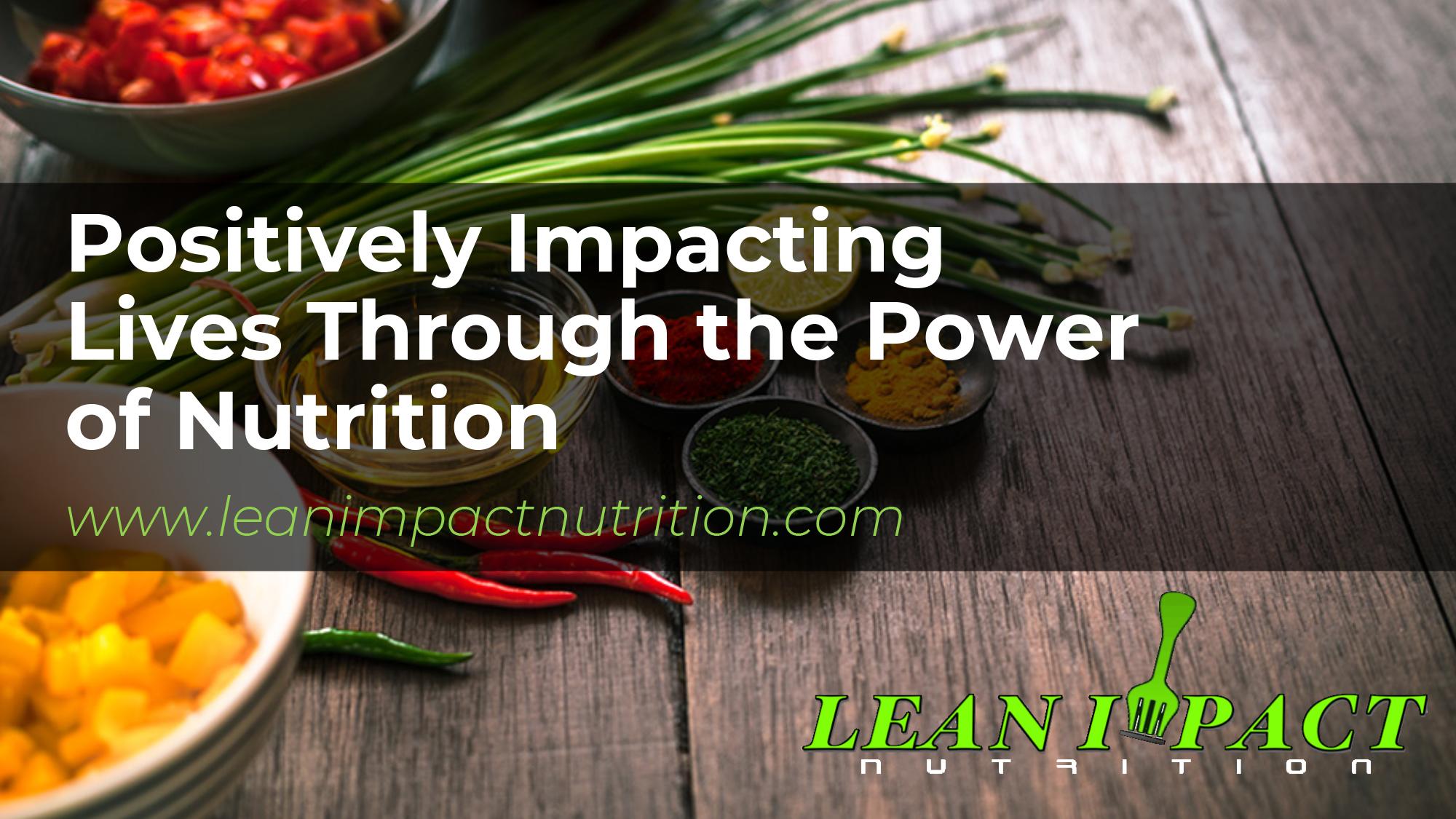 Lean Impact Custom PowerPoint Template