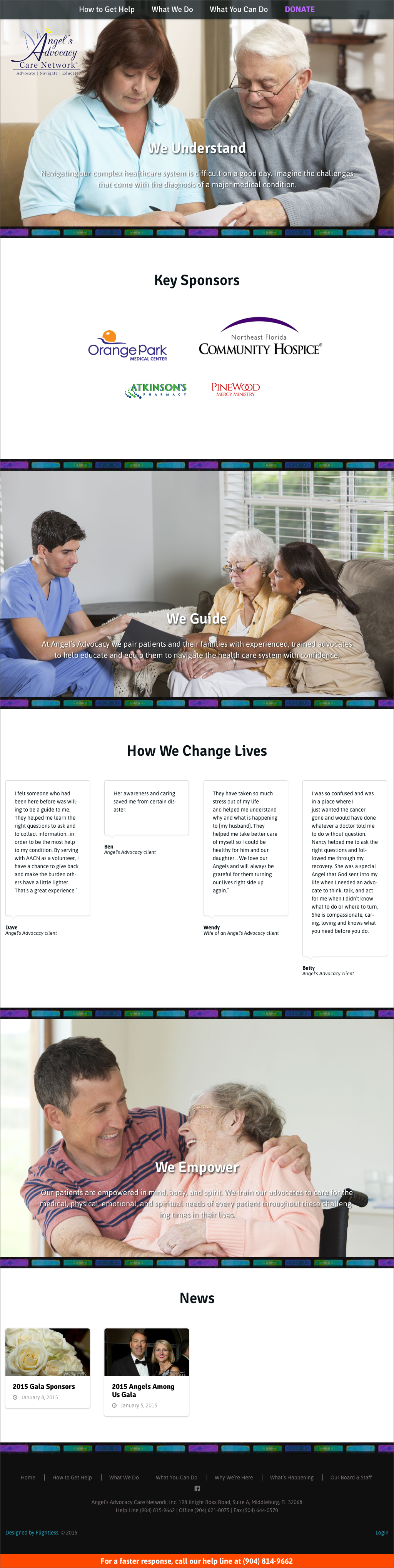 Care Network Home Page