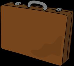 Illustration of traditional bi-fold wallet.