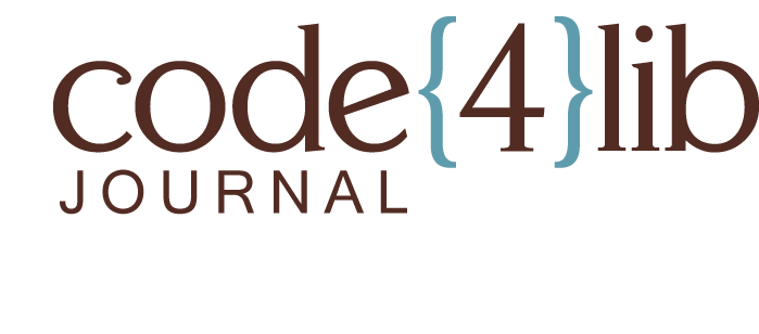 code{4}lib Journal logo