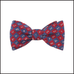 Bowtie with science symbols on it