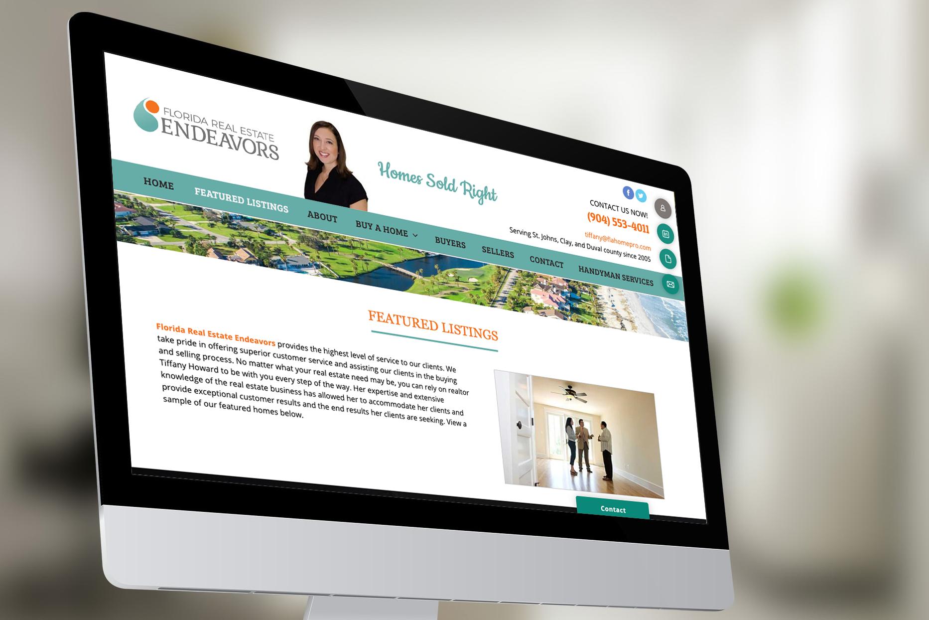 FLA Real Estate Endeavors Website