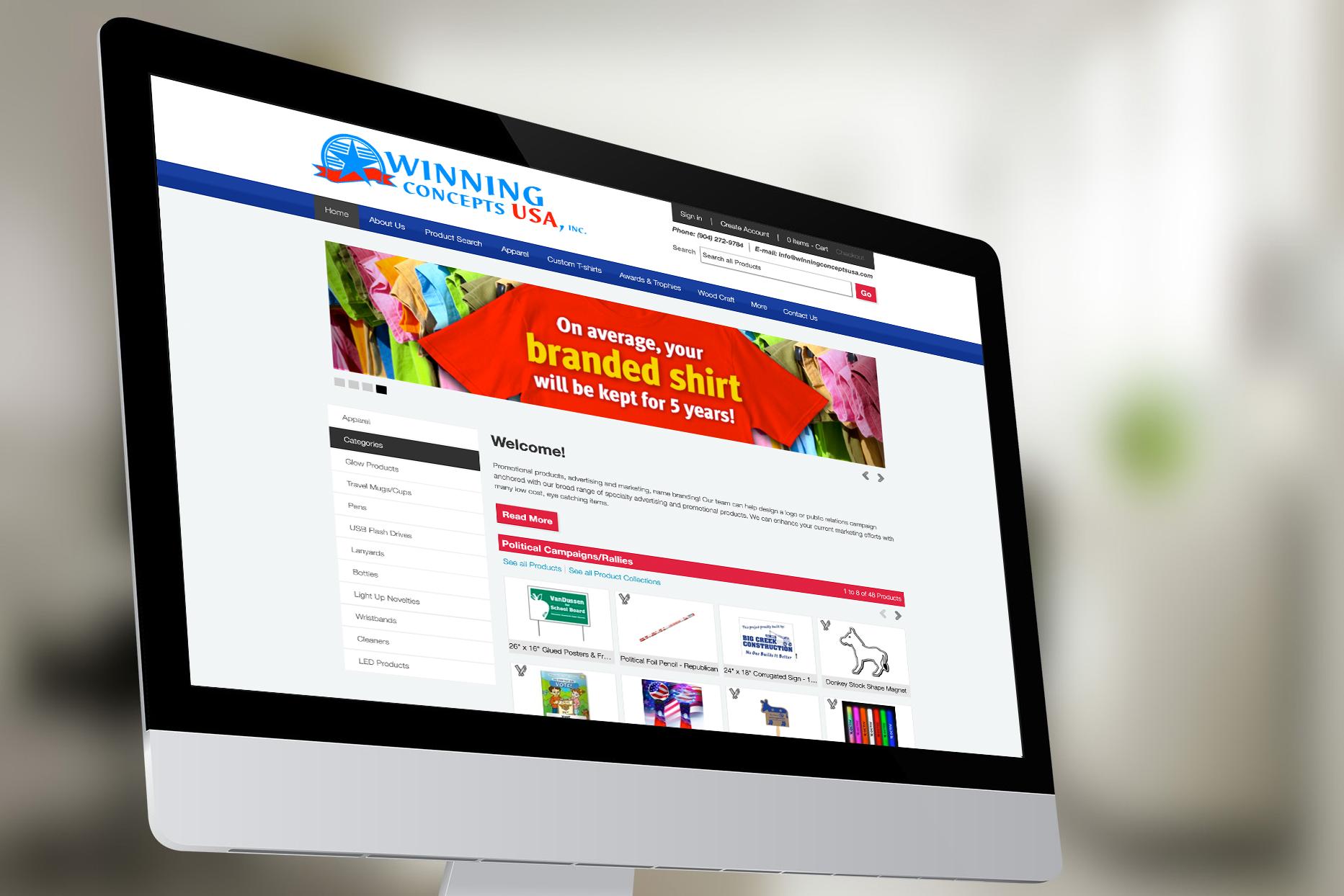 Winning Concepts USA Website
