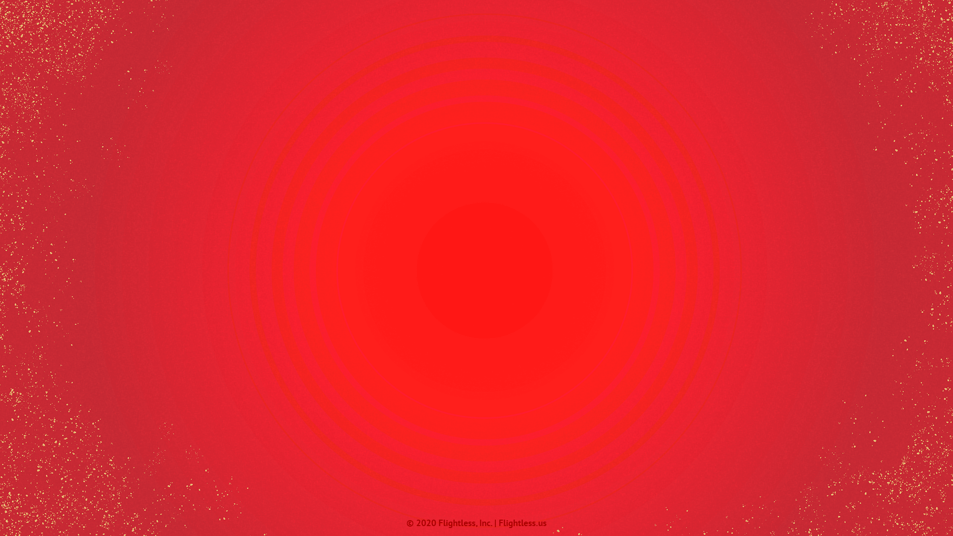 Red Zoom Background with Gold Flecks